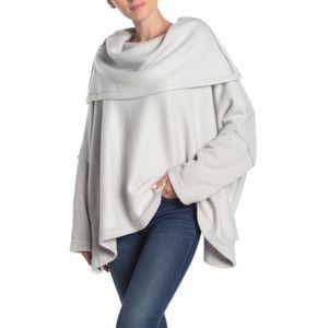 🆕 FREE PEOPLE Huntington Oversized Pullover Sz L